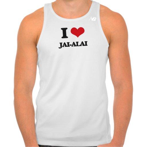 I Love Jai-Alai Tshirts Tank Tops, Tanktops Shirts