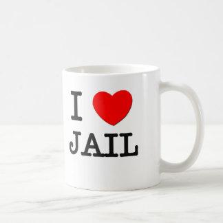I Love Jail Coffee Mug