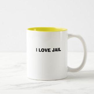 I LOVE JAIL MUG