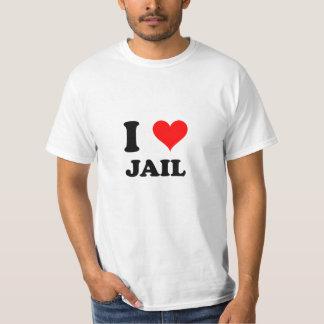 I Love Jail T Shirt