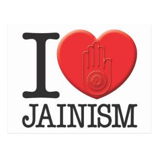 I Love Jainism Postcard