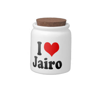 I love Jairo Candy Jars