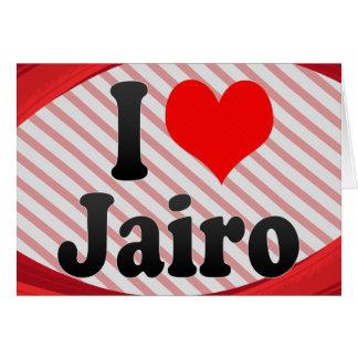 I love Jairo Greeting Card