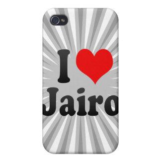 I love Jairo iPhone 4 Cases