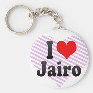 I love Jairo Key Chains