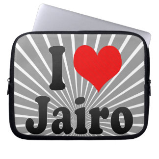 I love Jairo Laptop Computer Sleeve