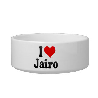 I love Jairo Pet Food Bowl
