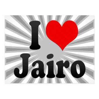 I love Jairo Postcards