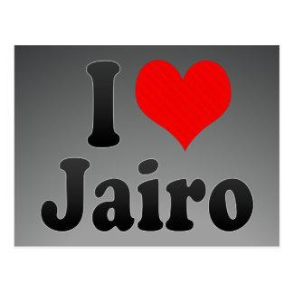 I love Jairo Post Cards