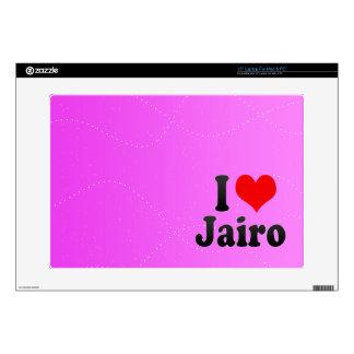 """I love Jairo Skin For 15"""" Laptop"""