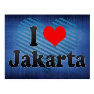 I Love Jakarta, Indonesia Postcard