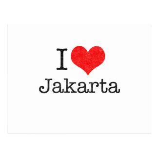 I LOVE JAKARTA POSTCARDS