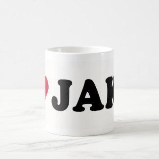 I LOVE JAKE COFFEE MUG
