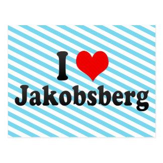I Love Jakobsberg, Sweden Postcard