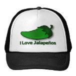 I Love Jalapenos Trucker Hat