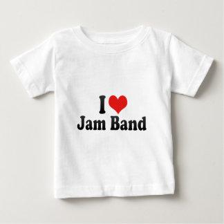 I Love Jam Band Baby T-Shirt