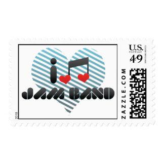I Love Jam Band Postage