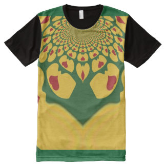 I Love Jamaica All-Over-Print T-Shirt