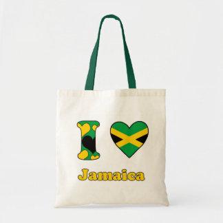I love Jamaica Budget Tote Bag