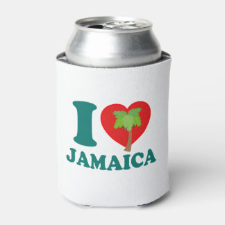 I Love Jamaica Can Cooler