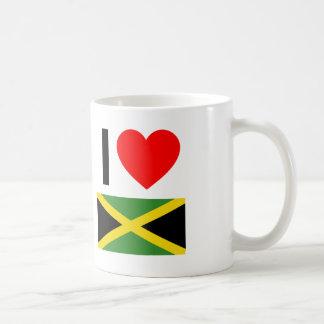 i love jamaica coffee mug