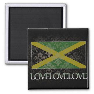 I love Jamaica Cool Fridge Magnet