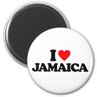 I LOVE JAMAICA FRIDGE MAGNETS