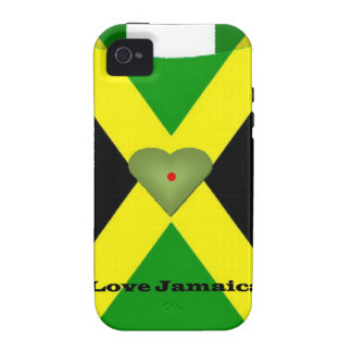 I Love Jamaica Have a Nice Day and a Better Night Vibe iPhone 4 Cover