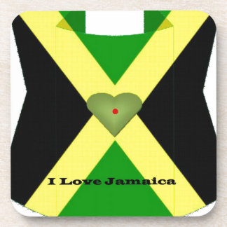 I Love Jamaica Have a Nice Day and a Better Night Drink Coaster