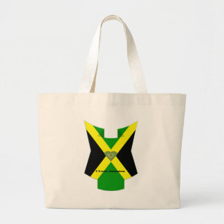 I Love Jamaica Have a Nice Day and a Better Night Jumbo Tote Bag