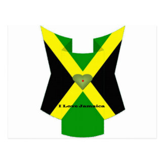 I Love Jamaica Have a Nice Day and a Better Night Postcard