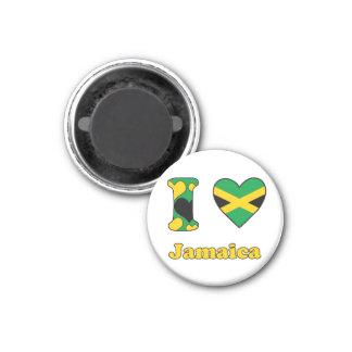 I love Jamaica Koelkast Magneetjes