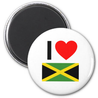 i love jamaica magnet