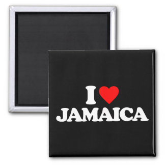 I LOVE JAMAICA MAGNETS
