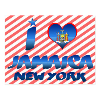 I love Jamaica, New York Postcard