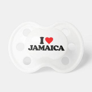 I LOVE JAMAICA BABY PACIFIER