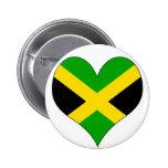 I Love Jamaica Pins