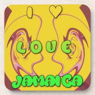 I love Jamaica.png Coasters