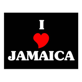 I Love Jamaica Postcard