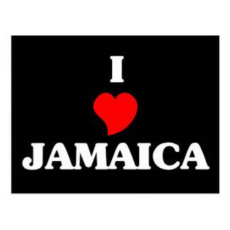 I Love Jamaica Postcard