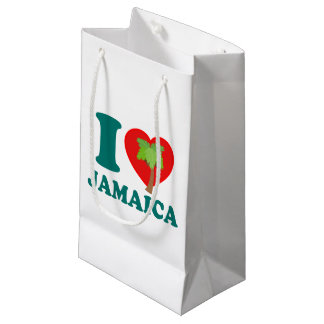 I Love Jamaica Small Gift Bag