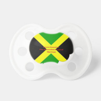 I Love Jamaica. The Beautiful Land of Springs Pacifier
