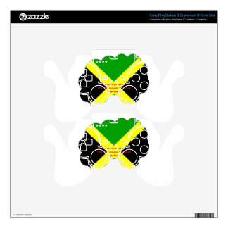 I Love Jamaica. The Beautiful Land of Springs PS3 Controller Decal
