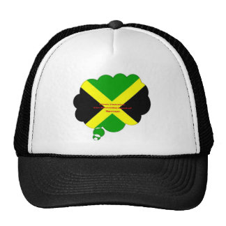 I Love Jamaica. The Beautiful Land of Springs Trucker Hat
