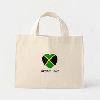 I love Jamaica Tote, Jammm1 Mini Tote Bag