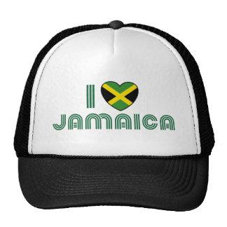 I Love Jamaica Trucker Hat