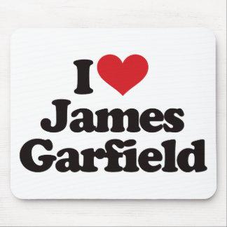 I Love James Garfield Mouse Pad
