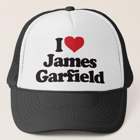 I Love James Garfield Trucker Hat
