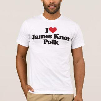I Love James Knox Polk T-Shirt