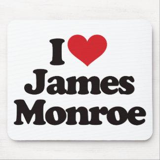 I Love James Monroe Mouse Pad